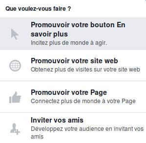 promotion facebook