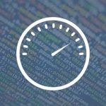 Illustration d'un compteur sur fond de lignes de codes